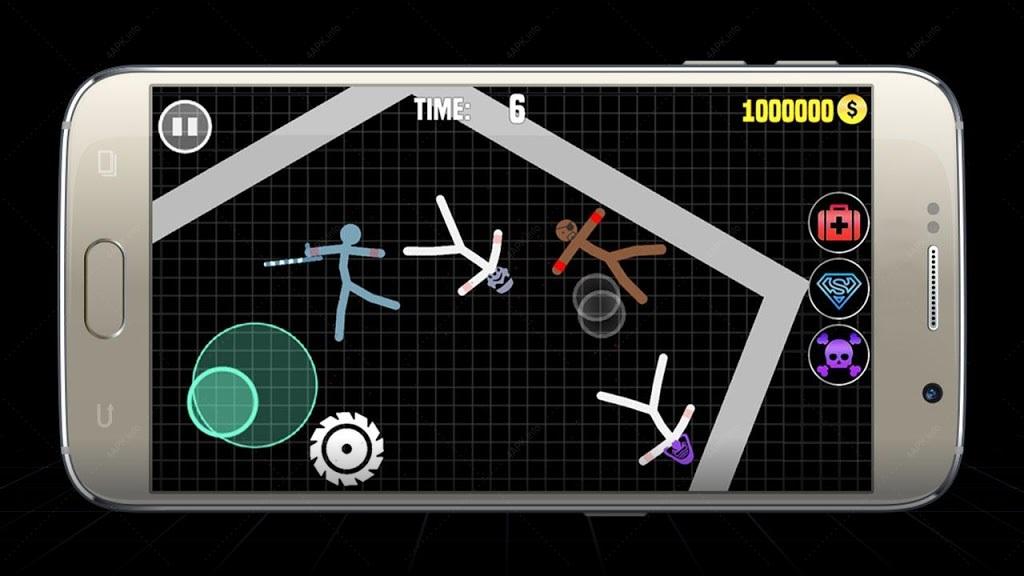 Stickman Warriors Online : Epic War screenshot