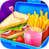 Игра -  School Lunch Food Maker 2