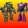 Игра -  Gangster Super Transform Robot Flying Car Robo War