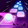 Игра -  Tiles Hop: бесконечные танцы