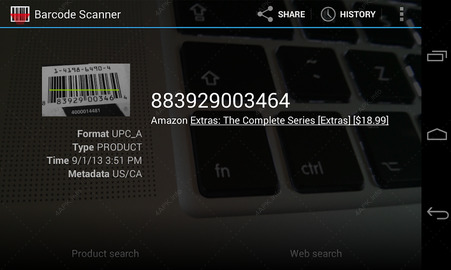 приложение Barcode Scanner screen_4.jpg