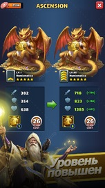 приложение MythWars & Puzzles: RPG «три в ряд» screen_5.jpg