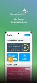 на android COVID 19 - DXB Smart App screen_4
