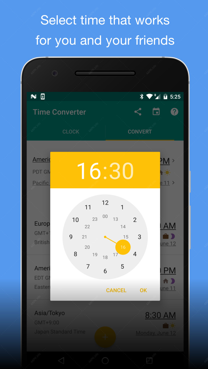 Мировые часы screenshot