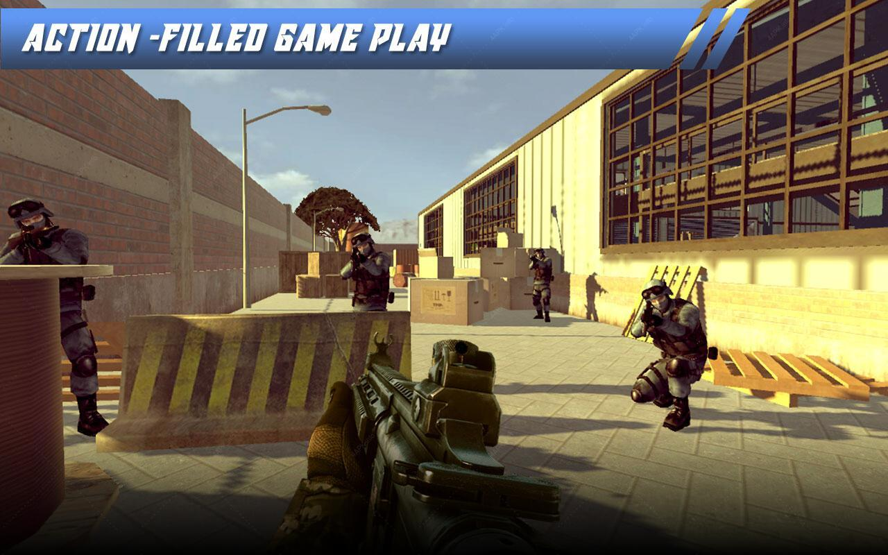 Frontline Hero Compound War screenshot