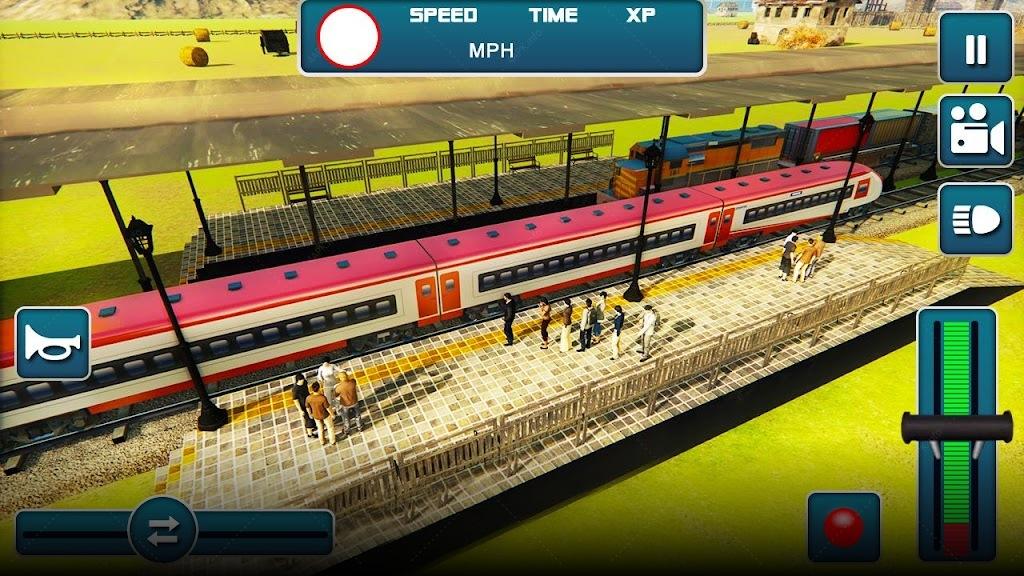 Поезд! Маунт привода паровой screenshot