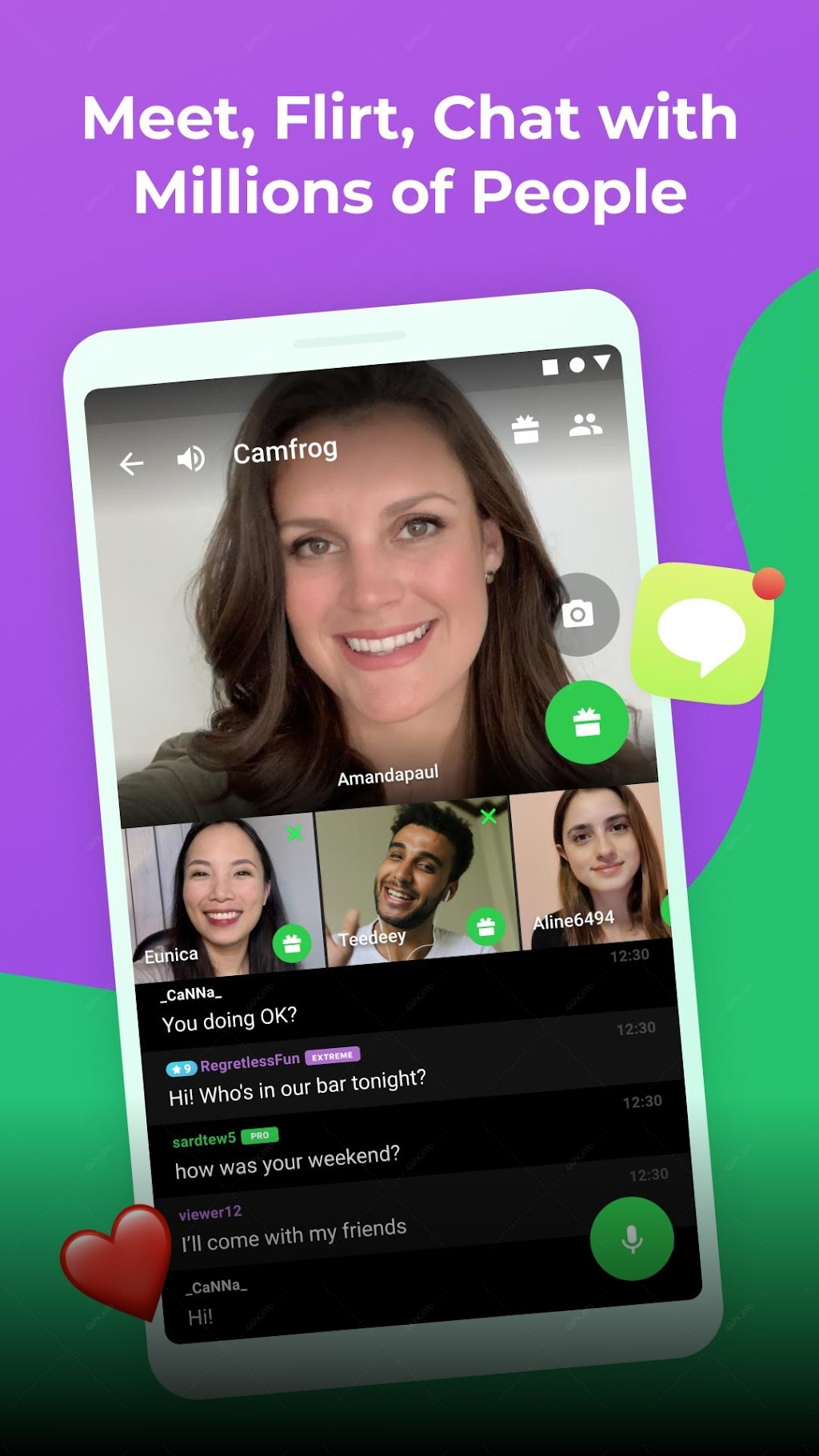 Apk flirt video and chat chat Chat