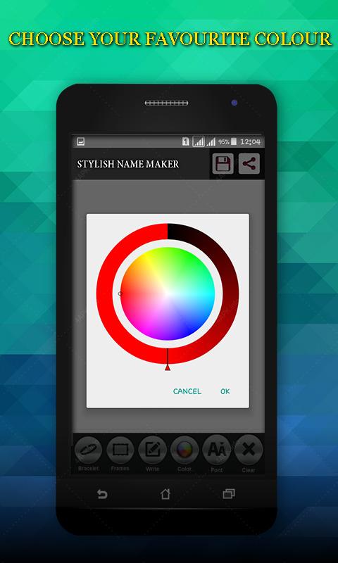 Стильный Имя Maker screenshot