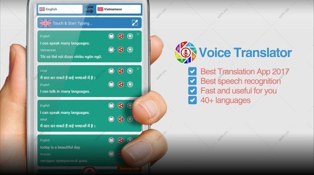 Dịch Giọng Nói Đa Ngôn Ngữ screenshot