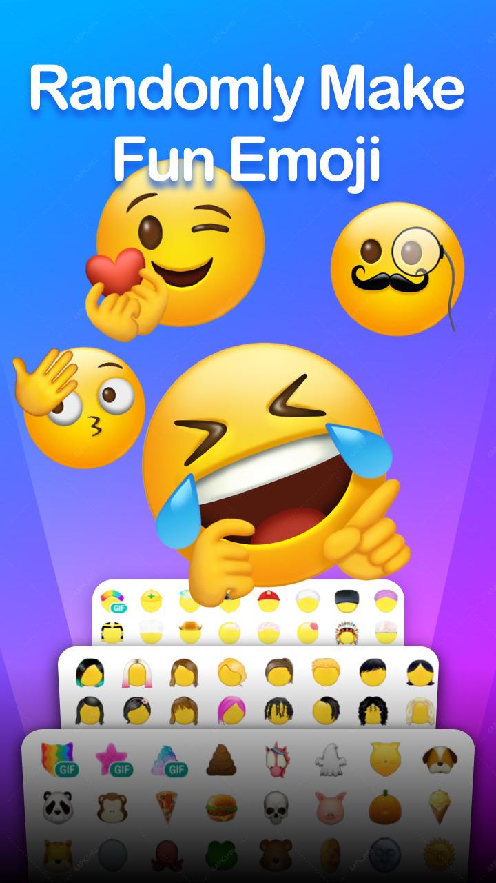 Emoji Maker: Собственные смайлики + анимоджи screenshot