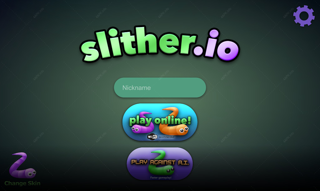 Змейка slither.io screenshot