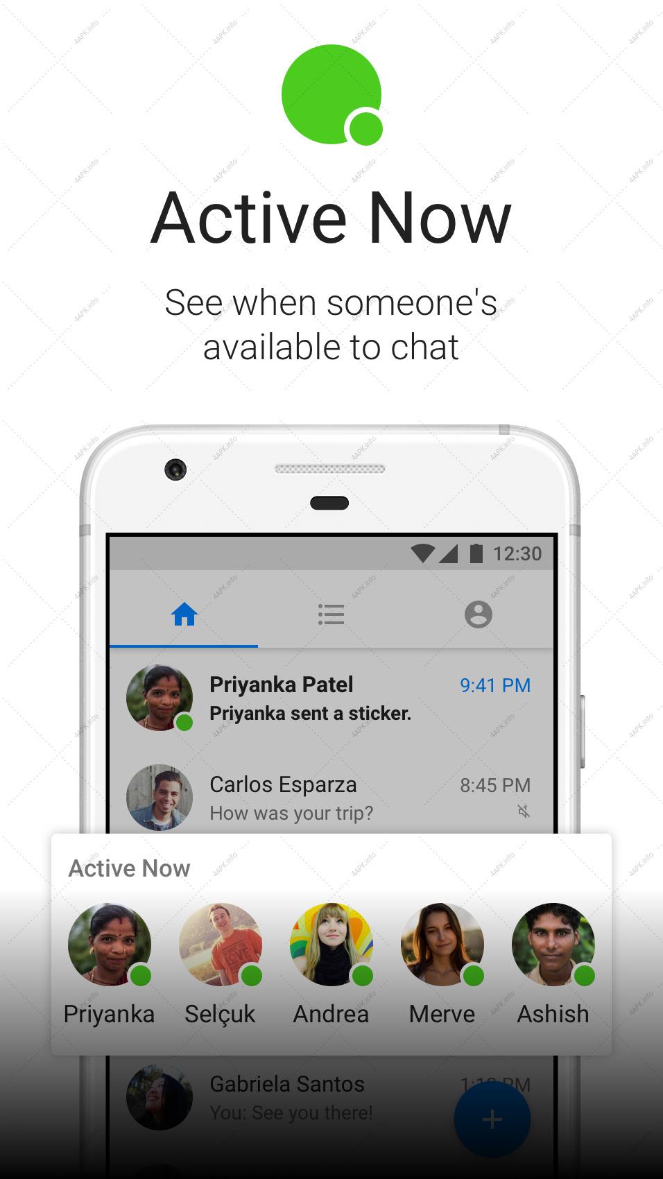 Messenger Lite: бесплатные звонки и сообщения screenshot