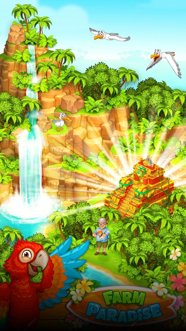 Райская ферма: Остров Удачи screenshot