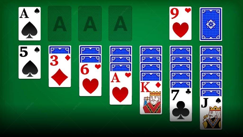карточные игры солитер играть